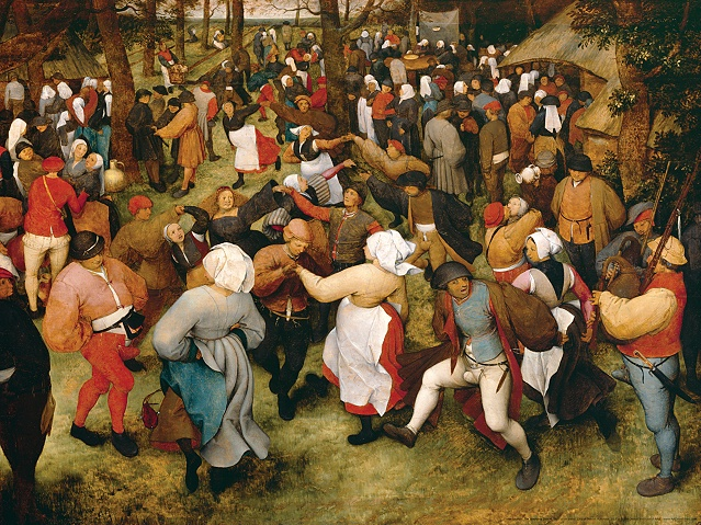 Bruegel Wedding dance
